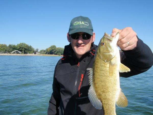 Bass caught in America
