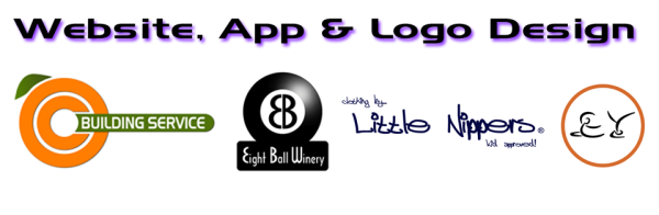 Website, App. & Logo Design