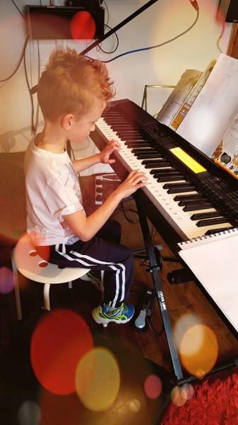 Jack - Piano (7yrs)