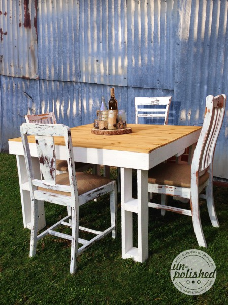 Rustic Furniture Hire Melbourne