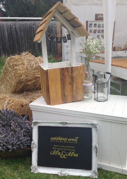 Rustic Wishing Well, Wedding Hire Melbourne