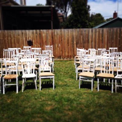 Rustic chair hire, Rustic Weddings, Distressed Furniture