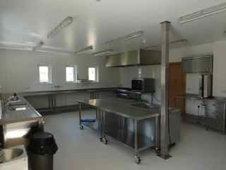 Kitchen - Fully equipped catering kitchen.