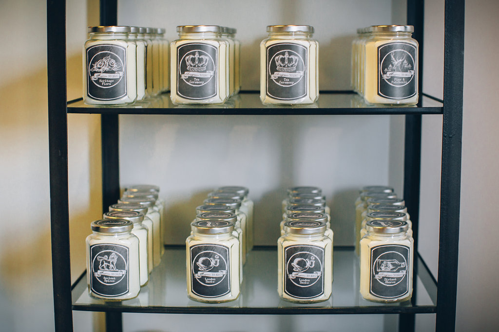 Dallas local candles available at larc salon - best candles in Dallas