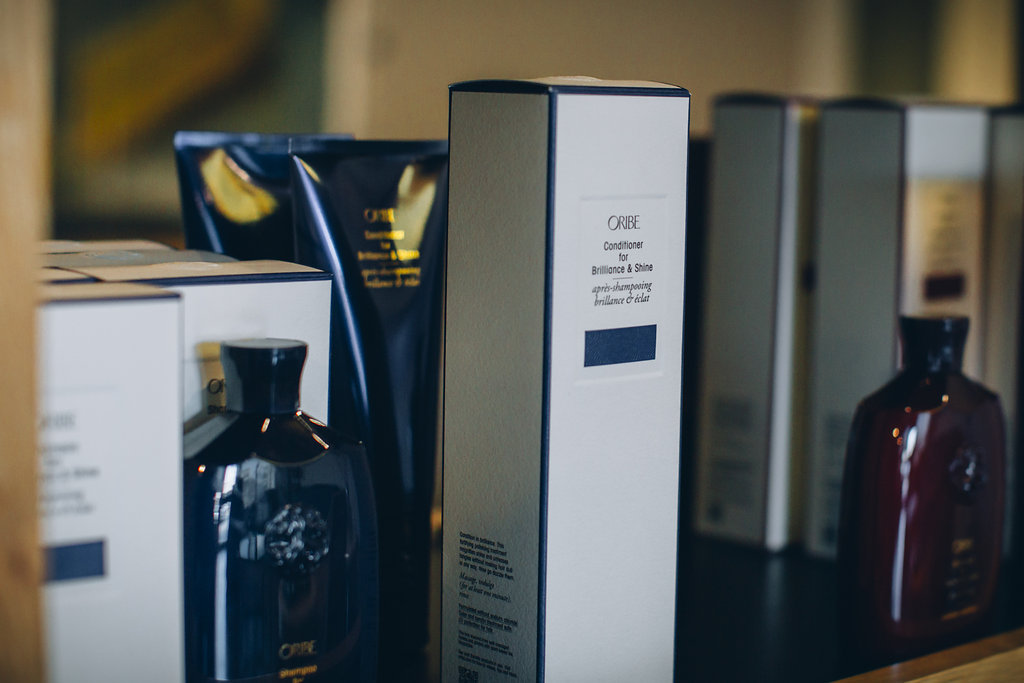 Oribe available at larc salon Dallas uptown Knox Henderson luxury salon