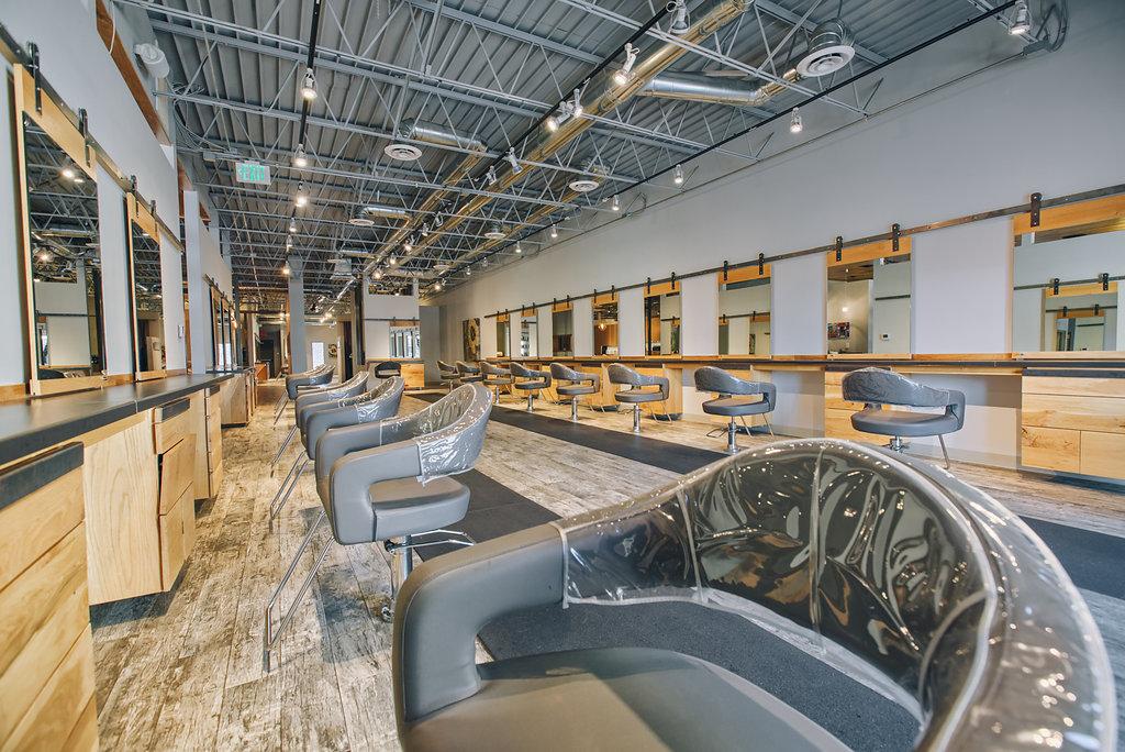 larc salon knox henderson luxury hair boutique style color