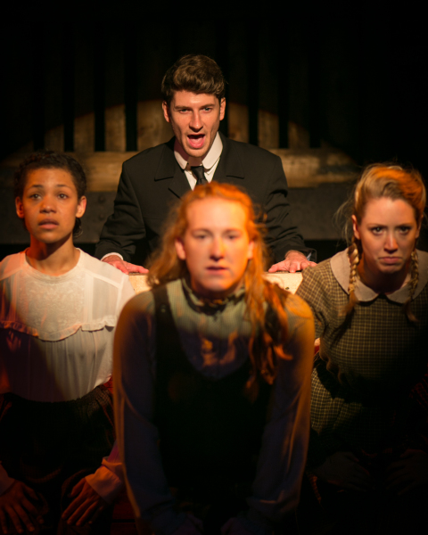 Essie (Nazerene Williams, Leo Frank (Ross Barnes), Iola Stover (Jennifer Webster) and Monteen (Victoria Hope)
