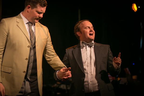 Hugh Darcey and Tom Watson (Norton James, Brandon Force)