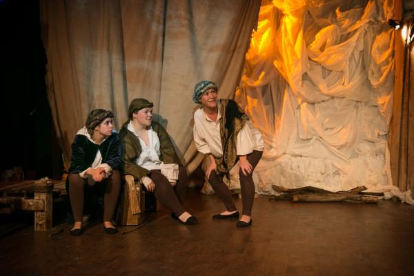 Antonio, Sebastian and Gonzalo (Emily Rae, Ella Victoria Robb and Marie Blount)