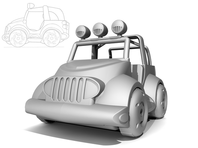 Toy Jeep Design