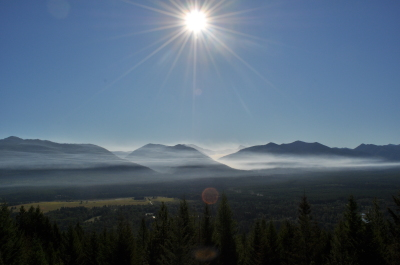 Unrivaled 360-degree view from Mission Lookout
