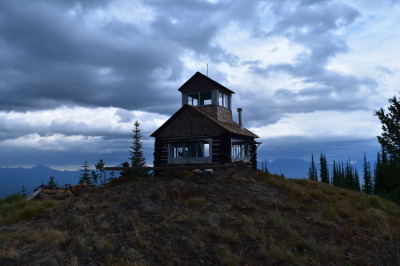 Hornet Lookout at an elevation of 6,744 feet.