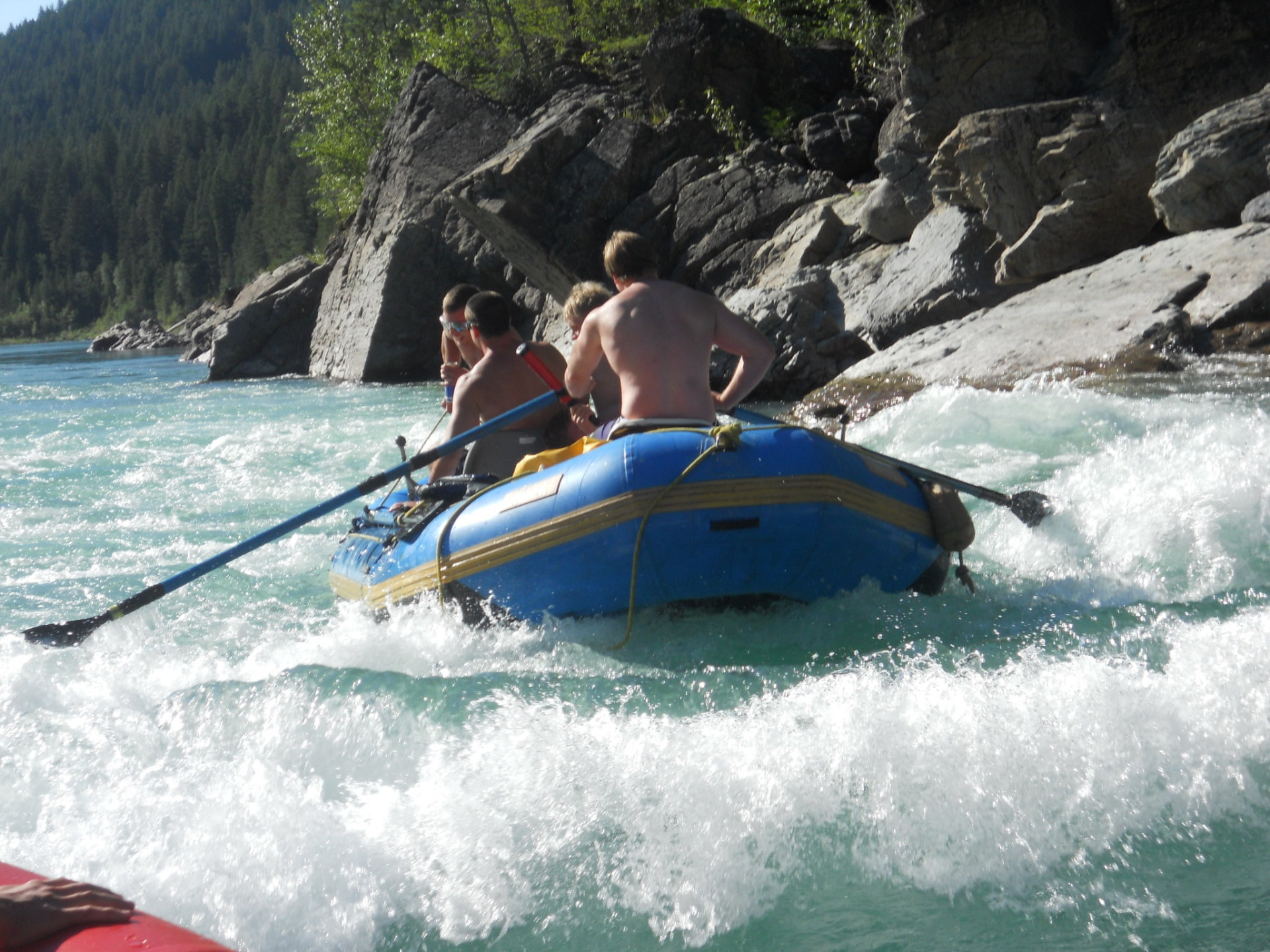 Rapids on the Middle Fork of the Flathead River