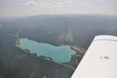 Dickey Lake from above