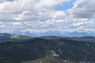 View from Werner Peak Lookout
