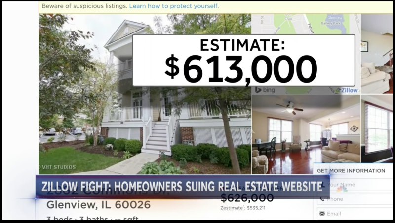 Lawsuit: Zillow 'Zestimates' Are Wrong, Preventing Homes From Selling