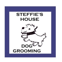 Steffies's House Dog Grooming Logo