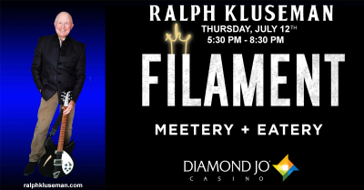 Ralph Kluseman LIVE at the FILAMENT/DIAMOND JO