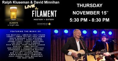 Ralph Kluseman & David Minnihan LIVE