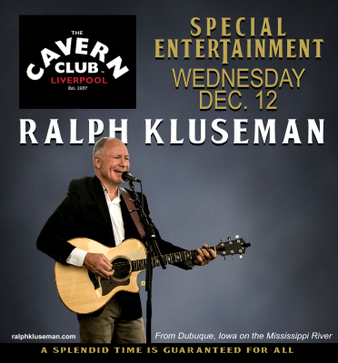 Ralph Kluseman at the Cavern Club