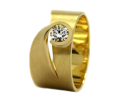 1.0 carat diamond ring
