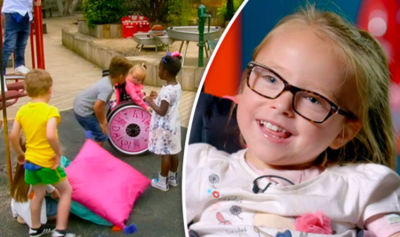 C4's five-year-olds give a outsiders view on disabiity