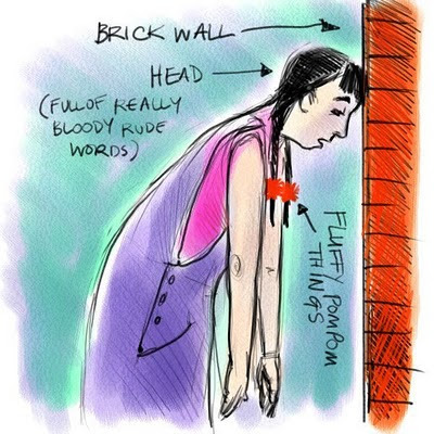 Beating Your Head Against A Brick Wall