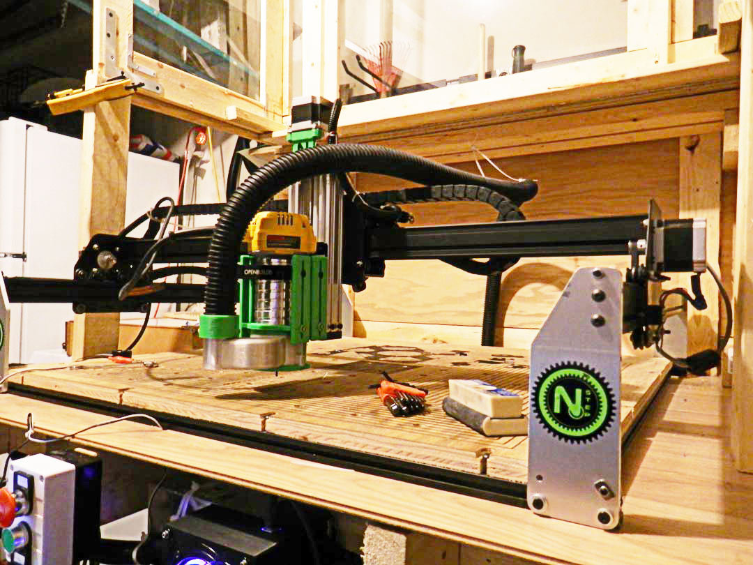 Modified X-Carve with C-Beam Z axis