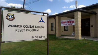 Warrior Combat Stress Reset Program @ Fort Hood, TX