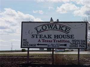 Lowake Steak House