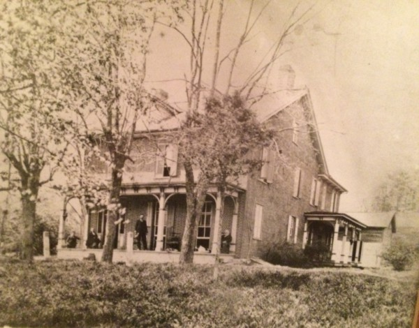 Original Martha Furnace House 1830s