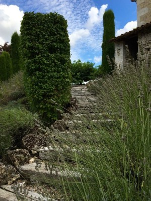 Steps up to Bouchon Haut