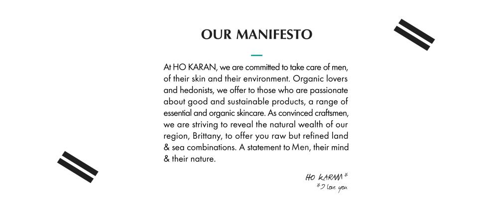 Our Manifesto