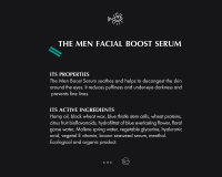 The Man Facial Boost Serum