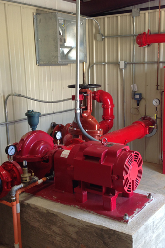 horizontal centrifugal fire pump
