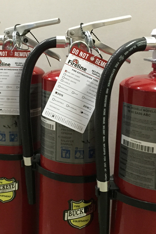 fire extinguisher inspections