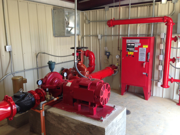 Electric Centrifugal Fire Pump