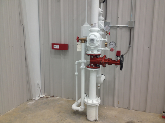 Automatic Fire Sprinkler Systems Tupelo Oxford Mississippi