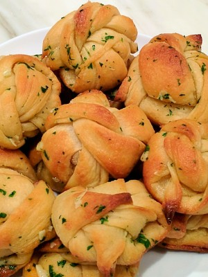 I Love Garlic, I Love Garlic Knot