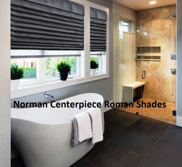 Norman Centerpiece Roman Shades