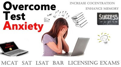 test anxiety, licensing exam, Increase concentration, enhance memory, bar exam, sat, lsat, Act