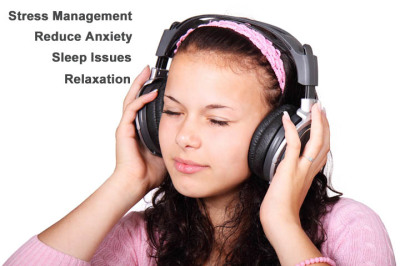 Stress Management, Reduce Anxiety, Sleep Issues, Relaxation, Hypnotherapy