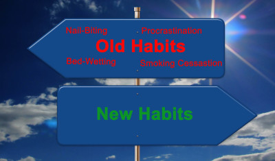 Create New Habits, Nail Biting, Bed Wetting, Procrastination, Smoking cessasion