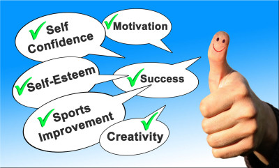 Improve self confidence, Improve self esteem, sport improvement, creativity, Success, Hypnosis