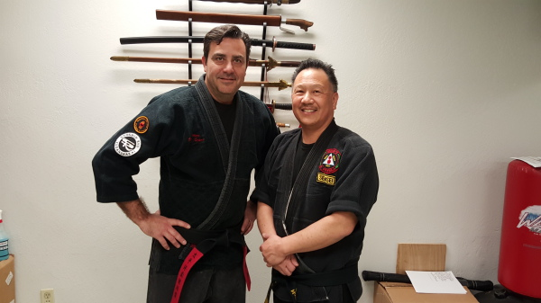 Sensei Mike Tucker Partners with Sensei Gary Wong