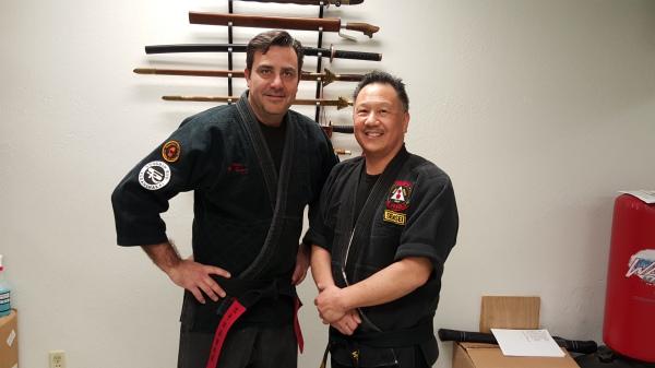 Sensei Mike Tucker Partners with Sensei Gary Wong