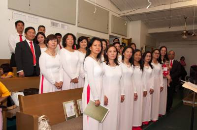 ST. THERESE CHOIR'S PATRON DAY 2015
