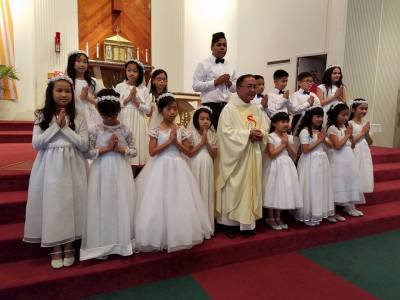 2016 First Communion Class