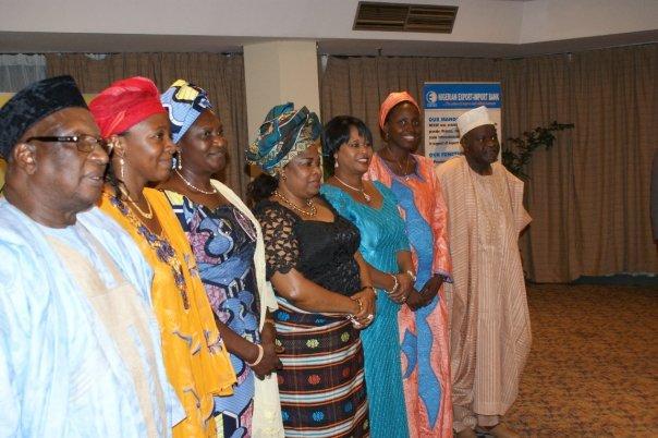 Mu Koyi Sana'a Unveiling with HE Dame P Jonathan; Dr Bamanga Tukur (ABR, NEPAD Business Group); Alh Abdulkadir S. Dantata (Dantata & Sawoe); Dr BH Beeka; DH Beeka (LEAD)