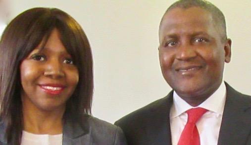 Dr Aliko Dangote & Dr Beeka